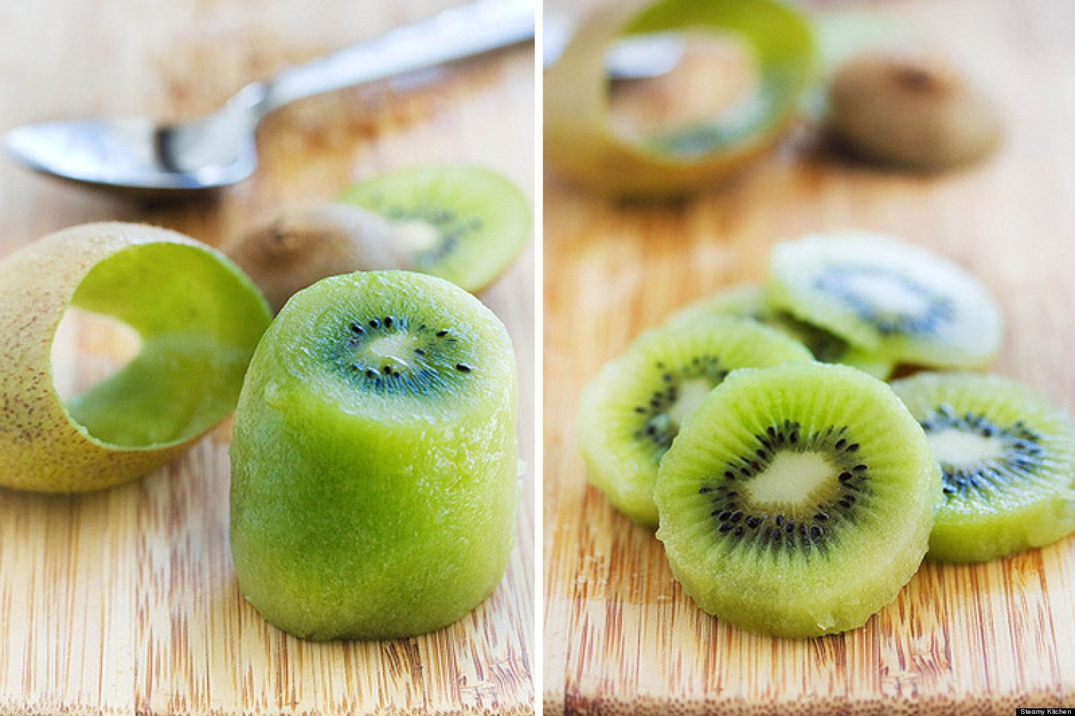 how to cut your fruits kiwi